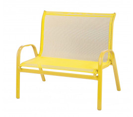 Banc enfant LITTLE B Jaune