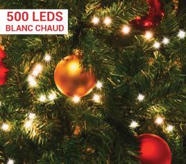 Guirlande électrique SNAKE 500 LEDs