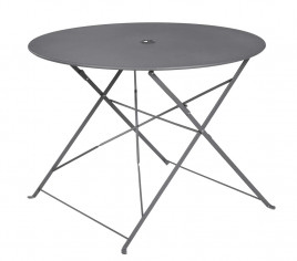 Table de jardin pliante BELLAGIO - Gris anthracite