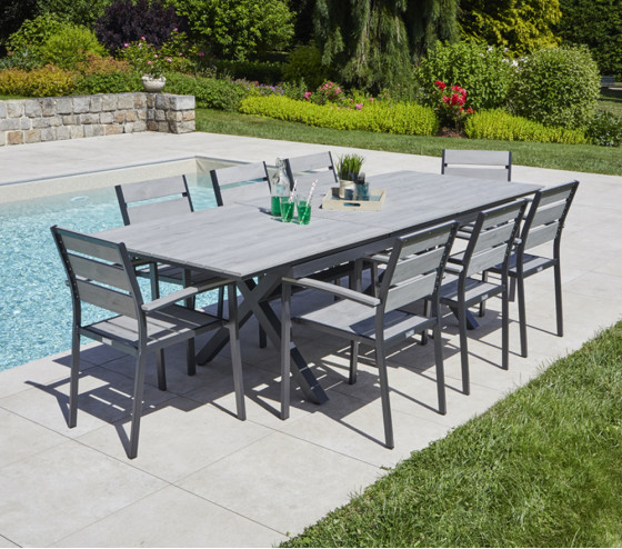 Table de jardin extensible CAVALAIRE