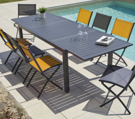 Table de jardin extensible GUETHARY