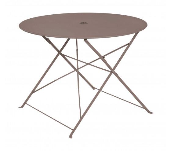 Table de jardin pliante BELLAGIO - Taupe