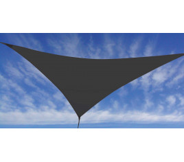 Voile d\'ombrage FLY 360 - Gris anthracite