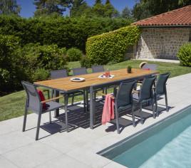 Table de jardin extensible NASHVILLE