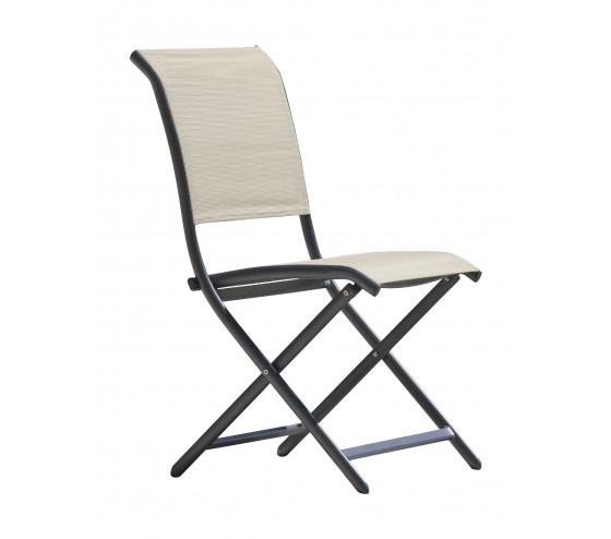 Chaise de jardin pliante LIZA - Lin