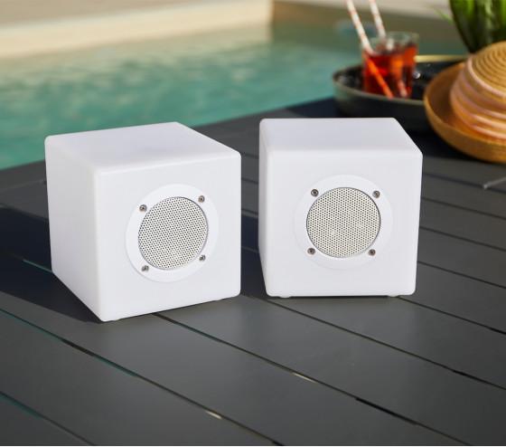 Set de 2 cubes enceintes DOUBLE ZIK CUBE